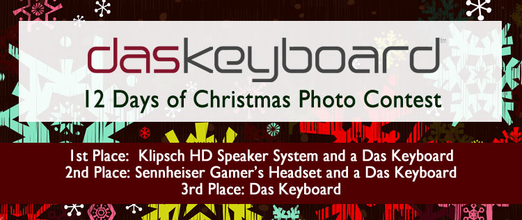 Das Keyboard's 12 Days of Christmas Contest