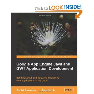 Google App Engine Java and GWT Application Development is now available on Amazon
