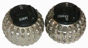 Selectric Type Balls