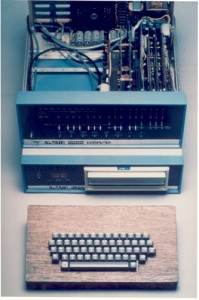1970s Altiar Computer with Exposed Keyboard