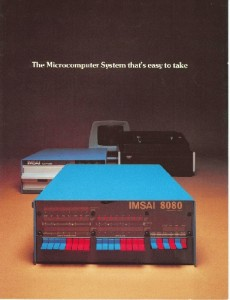 1970s IMSAI Computer with front panel key switches