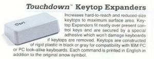 Keytop Expanders Advertisement