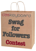 Das Keyboard Swag for Followers Contest