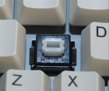 White Alps mechanical switch
