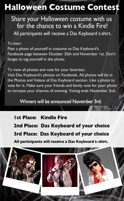 Das Keyboard's Halloween Costume Contest