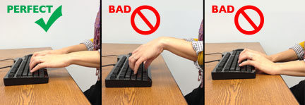 Proper Keyboarding Posture and Techniques