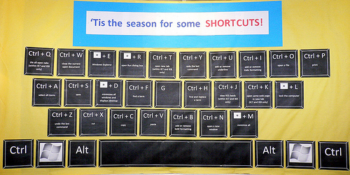 How to Increase PC Productivity (Hint: Learn Keyboard Shortcuts) by Bree Brouwer for Das Keyboard