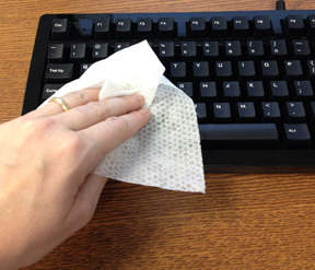 Properly disinfecting the Das Keyboard