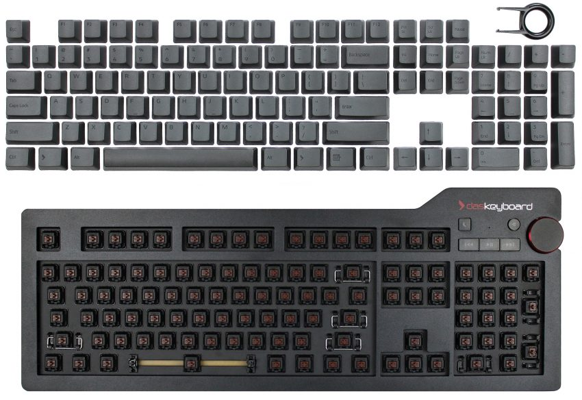 How to change keyboard's keycaps