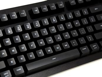 Das Keyboard black modern font english RGB keycap set for Gamma Zulu switches for Mac