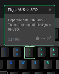 Flight Price Watcher Illustration