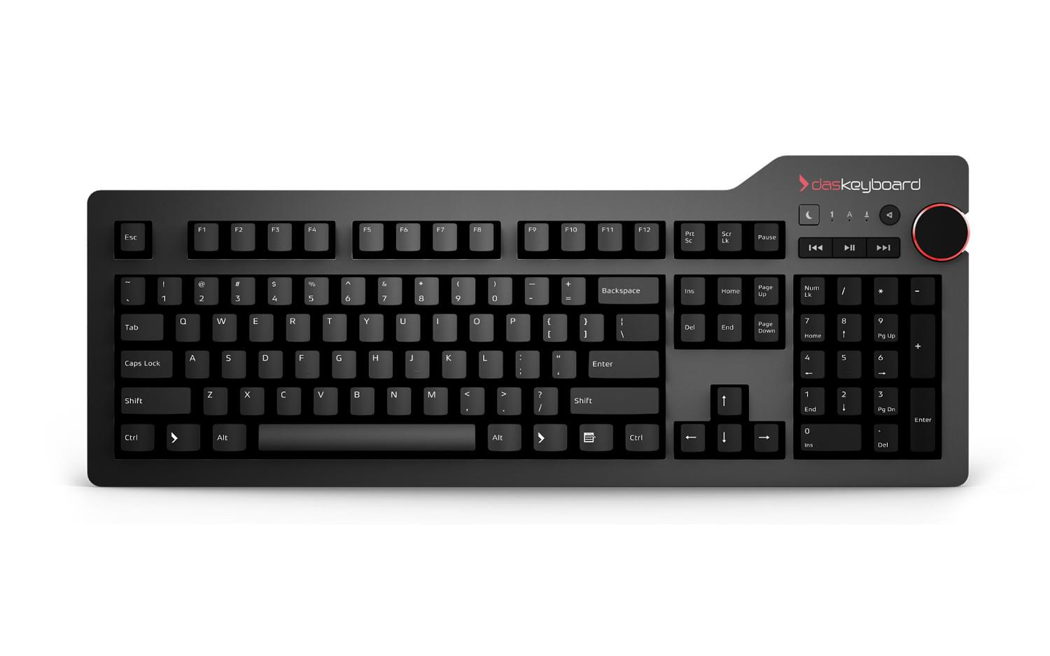 Das Keyboard 4 Professional Mechanical Keyboard - Us-keyboard-map