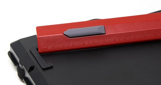 Das Keyboard 4 professional for Mac ruler feet