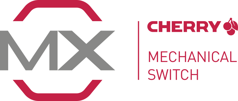 Cherry MX switch logo