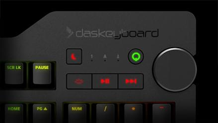 4Q keyboard media controls
