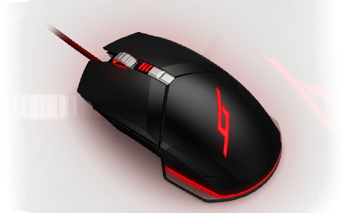 Mouse with mouse background