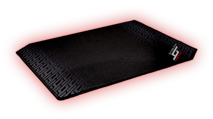 Mouse Pad 47W flex right view