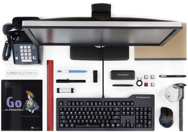 Μηχανικό πληκτρολόγιο Das Keyboard Prime 13 ιδανικό για επιτραπέζιους υπολογιστές