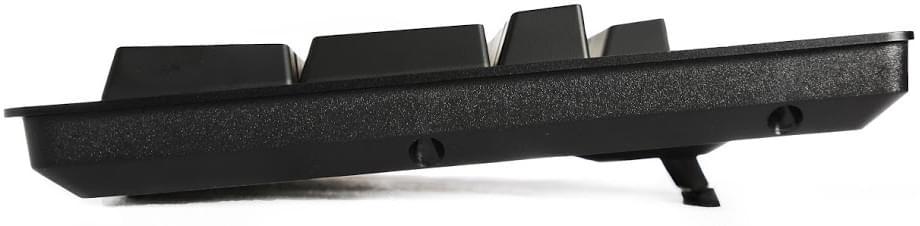 Das Keyboard Prime 13 μηχανική πλάγια όψη πληκτρολογίου