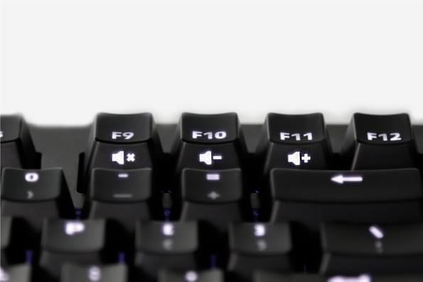 Das Keyboard Prime 13 μηχανικό πληκτρολόγιο πλευρικά