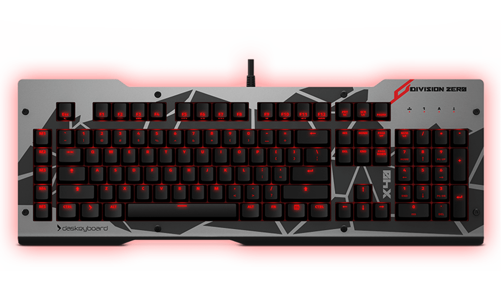 x40 Mechanical Keyboard Front view