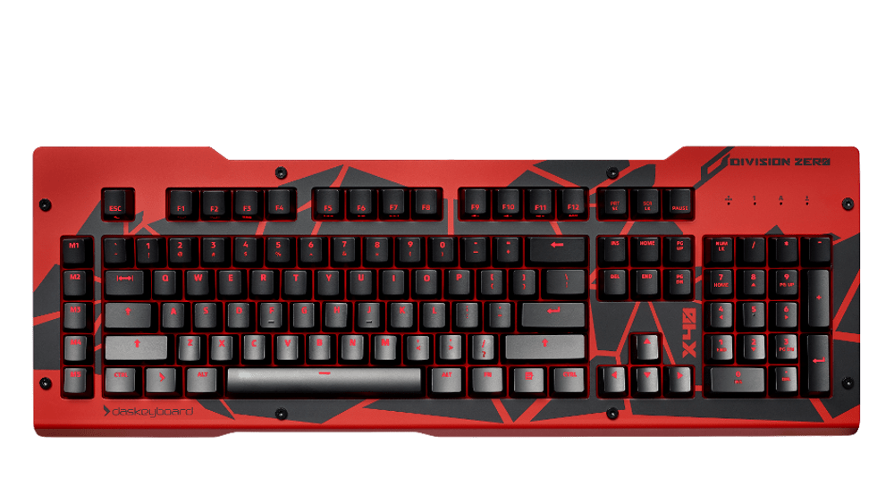x40 Mechanical Keyboard Red