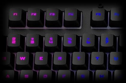 X50 RGB Mechanical Keyboard with a Durable Aluminium Panel