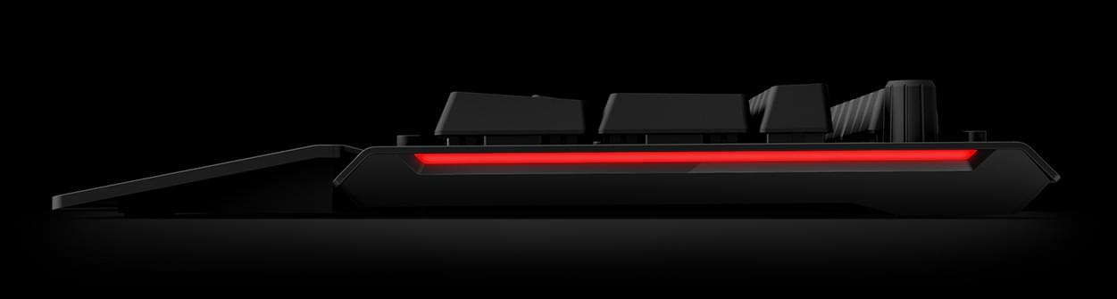 Das Keyboard X50 RGB Side View
